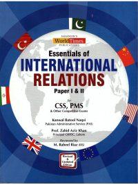 Essentials of International Relations By Kanwal Batool Naqvi JWT