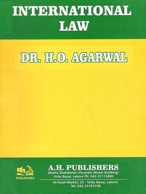 International Law By Dr H O Agarwal