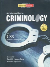 An Introduction to Criminology Sami ul Hassan Rana (JWT)