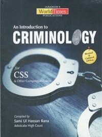 An Introduction to Criminology Sami ul Hassan Rana (JWT)