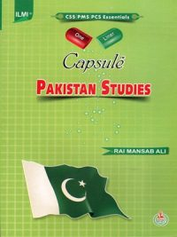 CAPSULE Pakistan Affairs By Rai Mansab Ali ILMI
