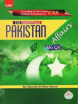 CSS Essentials Pakistan Affairs Solved MCQs ILMI
