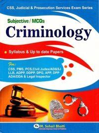 Criminology (Subjective & MCQs) - By M.Sohail Bhatti