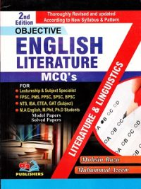 English Literature MCQs CSS PMS By Mohsin Raza