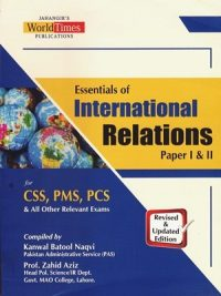 Essentials of International Relations By Kanwal Batool Naqvi & Zahid Aziz