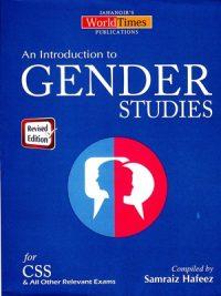Gender Studies By Samraiz Hafeez, Waheed Khan & Humaira Tehsin JWT