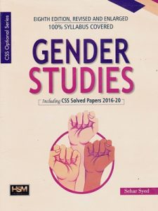 Gender Studies By Sehar Syed 8th Edition HSM