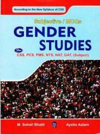 Gender Studies Subjective MCQS By Sohail Bhatti