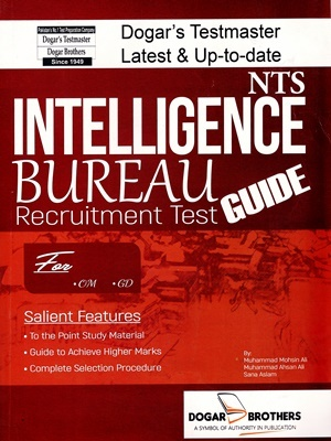 Intelligence Bureau (IB) Recruitment Test Guide By Dogar Publishers
