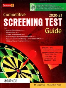 Screening Test Guide for PSC 2020-2021 By Ch. Ahmad Najib Caravan