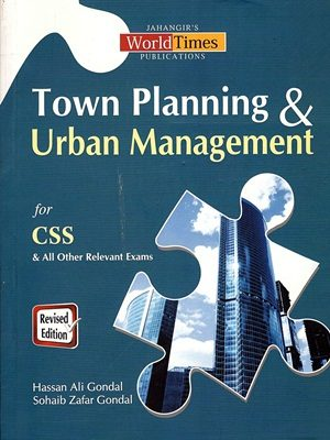 Town Planning & Urban Management By Hassan Ali Gondal JWT