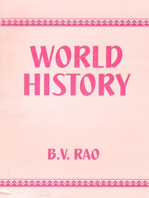 World History By BV Rao Student Edition