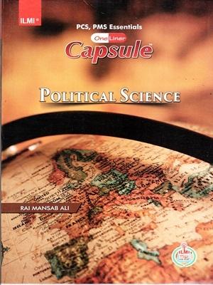 Capsule Political Science By Rai Mansab Ali ILMI