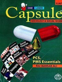 Capsule Sociology & Social Work (PCS,PMS) By Rai Mansab Ali Ilmi