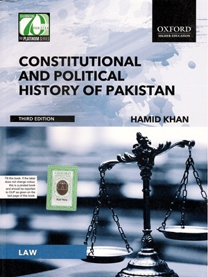 constitutional history of pakistan Constitutional history prior to its independence from britain in 1947, pakistan was originally governed under the government of india act of 1935.