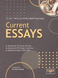 Current Essays By M Israr Junaib HSM Publishers