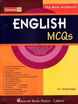 English MCQS By Ch  Ahmad Najib Caravan