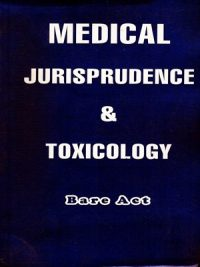 Medical Jurisprudence & Toxicology ( Bare Act )