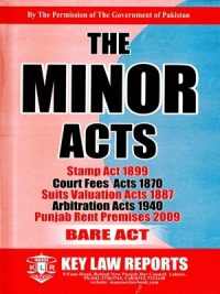 The Minor Acts By S.A Abid Publisher K.L.R