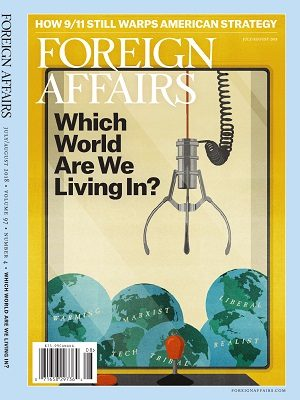 Foreign Affairs July August 2018 Issue