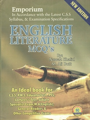 English Literature MCQ's By Nawaz Khalid M  Ali Butt (Emporium Publishers)
