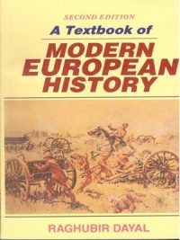 Modern European History By Raghubir Dayal Second Edition