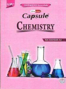 Capsule Chemistry (PCS,PMS) By Rai Mansab Ali ILMI