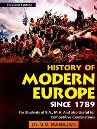History of Modern Europe Since 1789 By V.D. Mahajan