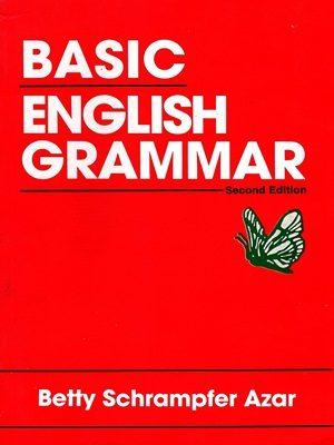 Basic English Grammar By Betty schrampfer Azar