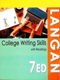 College writing skills With Readings By John Langan Seventh Edition