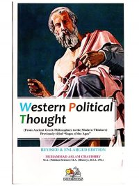 Western Political Thought By Muhammad Aslam Chaudhry AH Publishers