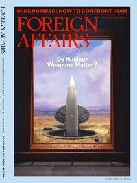 Foreign Affairs November December 2018 Issue