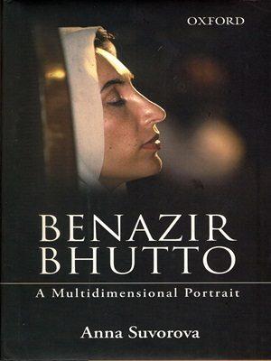 Benazir Bhutto By Anna Suvorova (Oxford)