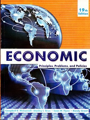 Economic By Campbell R. & Mcconnell 19 Edition