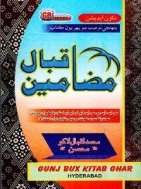Mazamuin-E-Iqbal By Muhammad Iqbal Lakho (Gunj Bux )