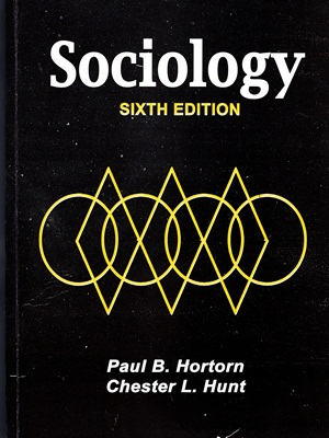 Sociology By Horton Hunt Sixth Edition