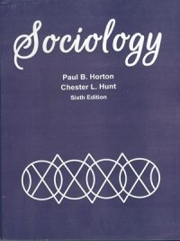 Sociology By Horton Hunt Sixth Edition