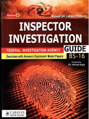 FPSC FIA Inspector Investigation By Ch.Ahmad Najib (Caravan)