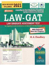 LAW GAT By M A Chaudhary N Series