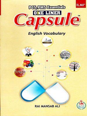 Capsule English Vocabulary By Rai Mansab Ali (ILMI)