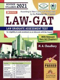 LAW GAT By M. A. Chaudhary N-Series