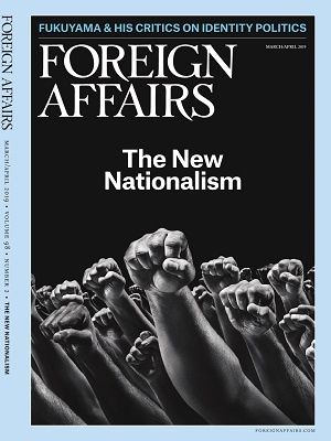 Foreign Affairs March April 2019 Issue