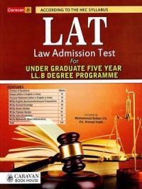LAT Law Admission Test By Mohammad Soban Ch & Ch . Ahmad Najib Caravan