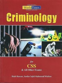 Criminology By Shah Hassan & Sardar Sajid Mahmmod Wattoo JWT