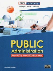 Public Administration Solved Mcqs 2000-2020 By Daniyal Shabbir HSM