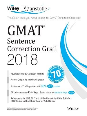 GMAT Sentence Correction Grail 2018