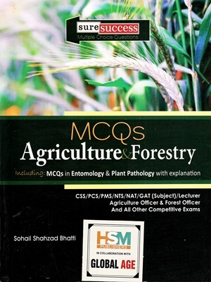 MCQs Agriculture & Forestry By Sohail Shahzad Bhatti HSM