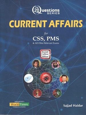 Top 20 Questions Series Current Affairs By Sajjad Haidar JWT