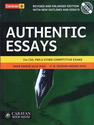 Authentic Essays By Amar Shakir Jajja (PAS) & M. Zeeshan Arshad (PAS) Caravan