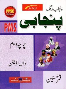Punjab Rang Punjabi For PMS Paper 2 By Qamar Hussain Advanced